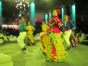 Mexican Dancers at Santuario