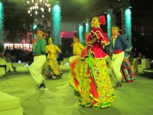 Mexican Dancers at Santuario