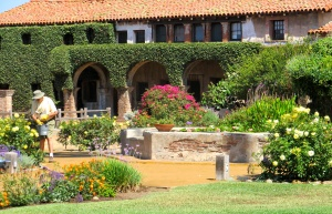 Garden and Grounds at the Mission
