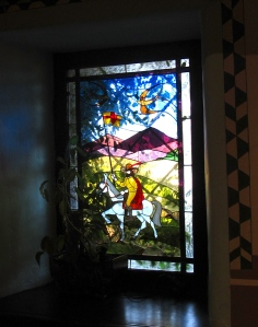 The window in our banquet room at El Adobe!