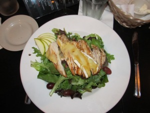 Grilled Chicken with Brie at Bistro 301 -- Yummy!