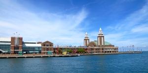 The Navy Pier!