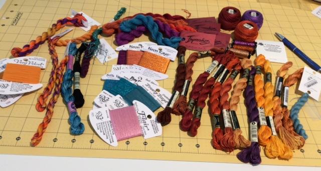 Autumn Kaleidoscope - Threads