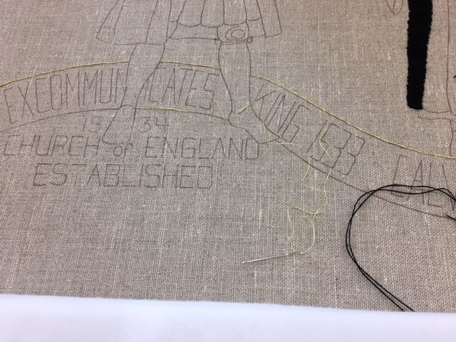 My Stitching 1