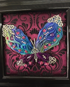 Shibori Butterfly Box