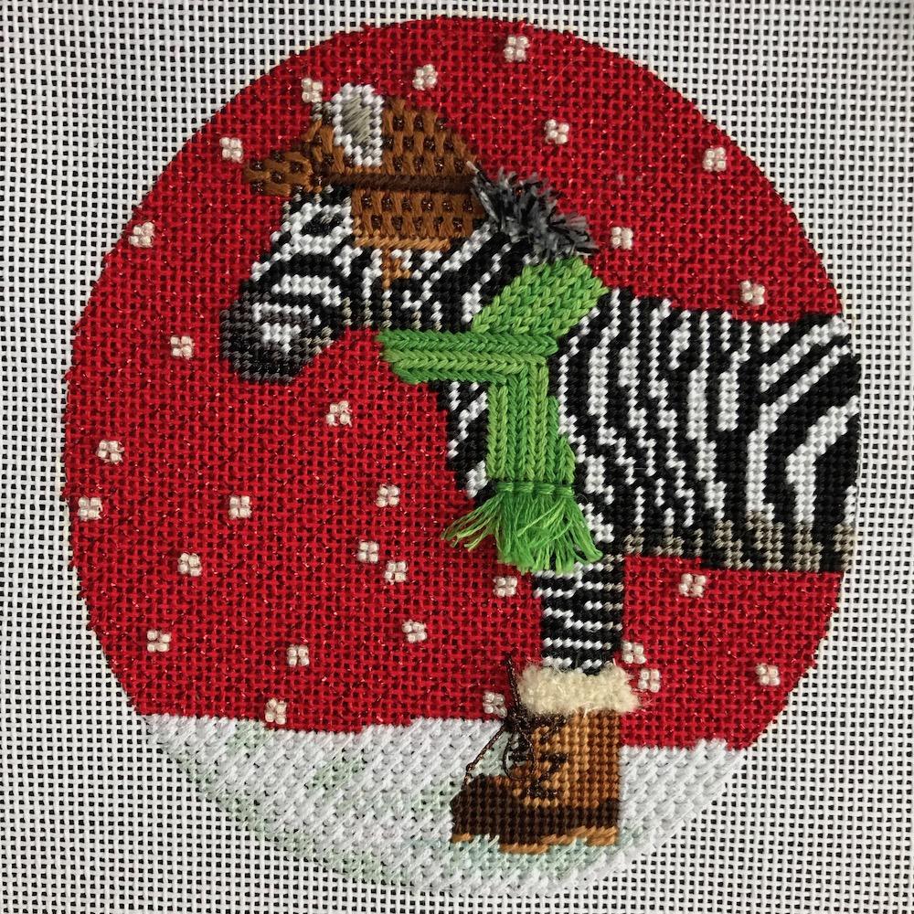 zebra finished